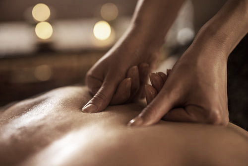 MASSAGE IN TWO COMPONENTS